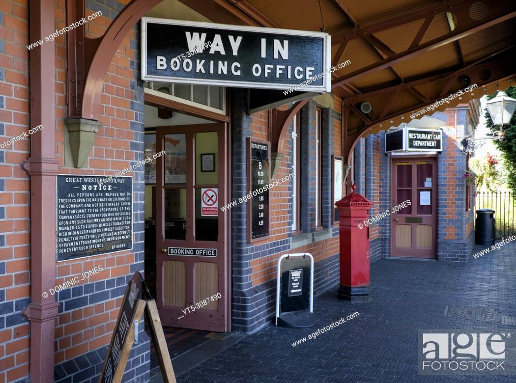 Stock Photo: Kidderminster Severn Valley Railway Station, Kidderminster, Worcestershire, England, Europe.