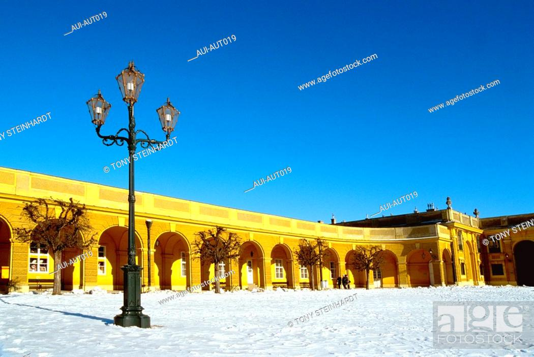 Stock Photo: Austria - Vienna - Schoenbrunn Castle.
