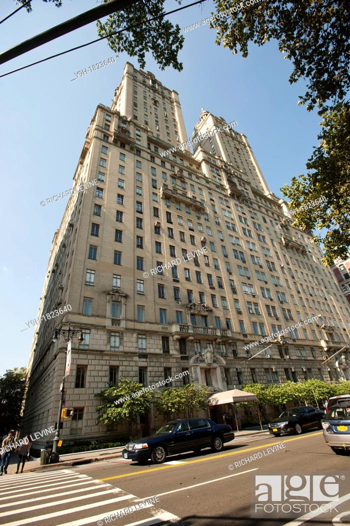 Stock Photo The San Remo Apartment Building In Upper West Side Neighborhood New York Of Top Ten Fundraising Zip Codes Five Them Are