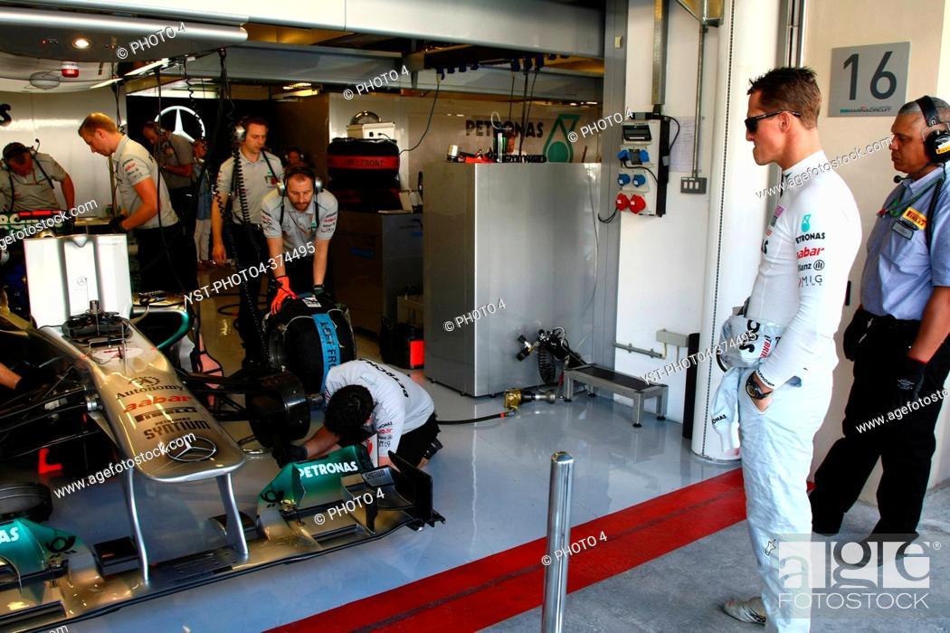 Friday Practice 1, Michael Schumacher GER, Mercedes GP