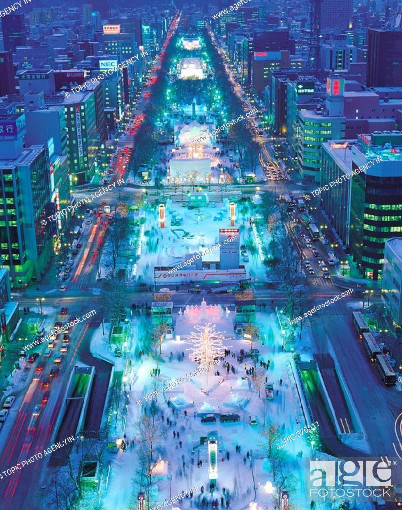 Stock Photo: Sapporo Snow Festival,Sapporo,Hokkaido,Japan.