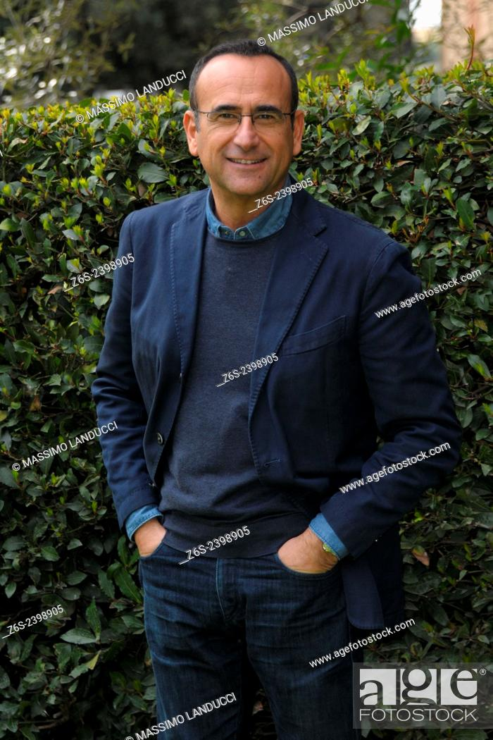 Imagen: Carlo Conti; Conti; presenter TV ; celebrities; 2015;rome; italy;event; photocall; Si può fare.