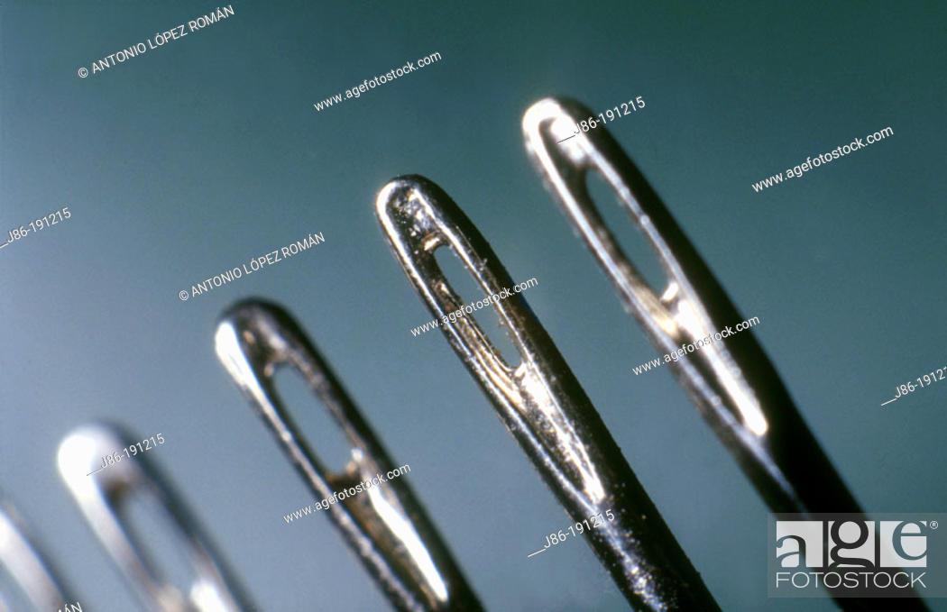 Stock Photo: Needles.