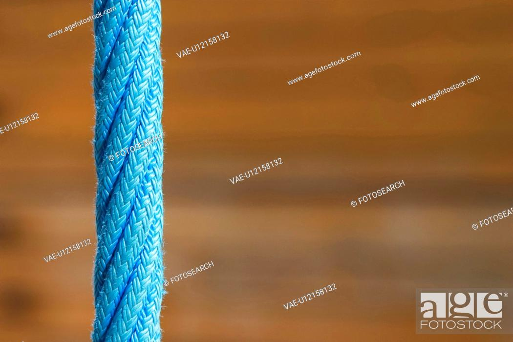 Stock Photo: ropes, braided, industrial, detail, background, rope.