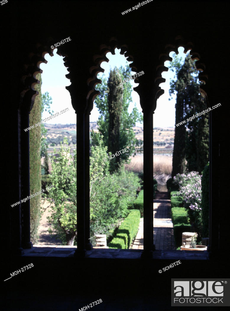 Stock Photo: Toledo, Palacio Galiana/Durchblick, 11. Jh.