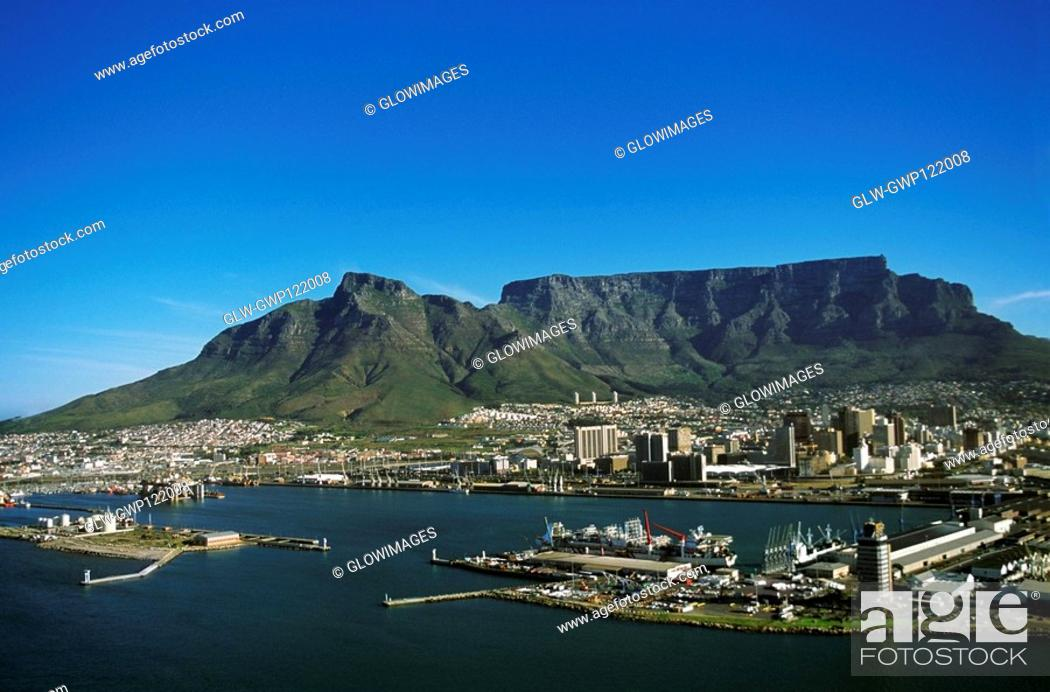 Stock Photo: Capetown, South Africa, Aerial view.