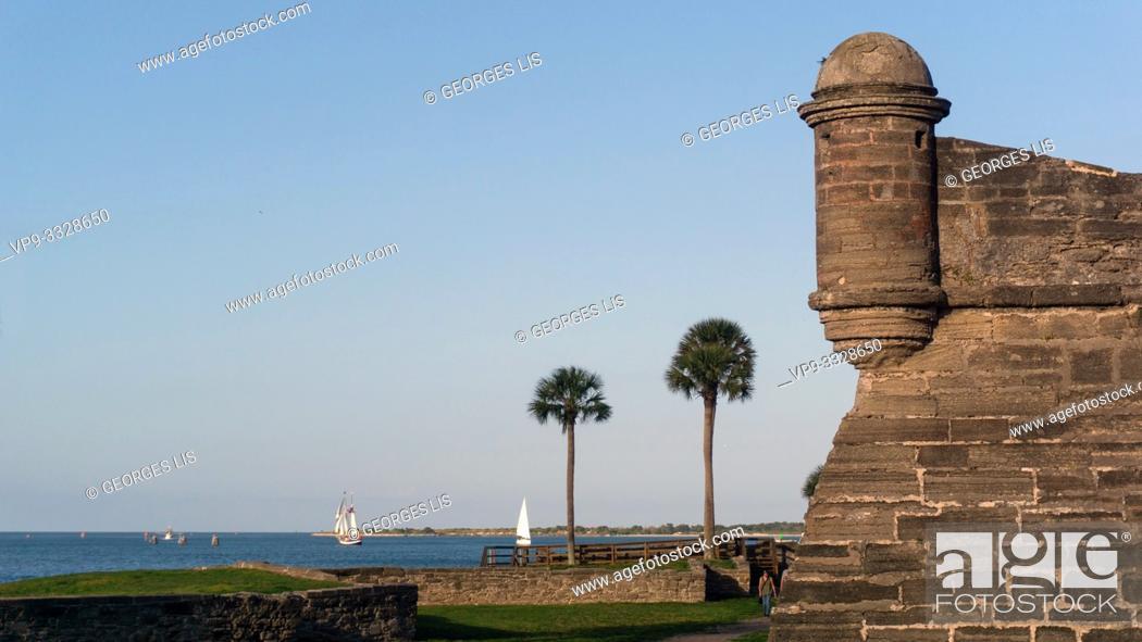 Imagen: Castillo de San Marcos.