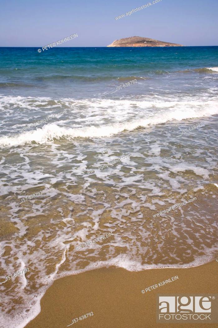Stock Photo: A beach on the island of Kalymno. Greece.