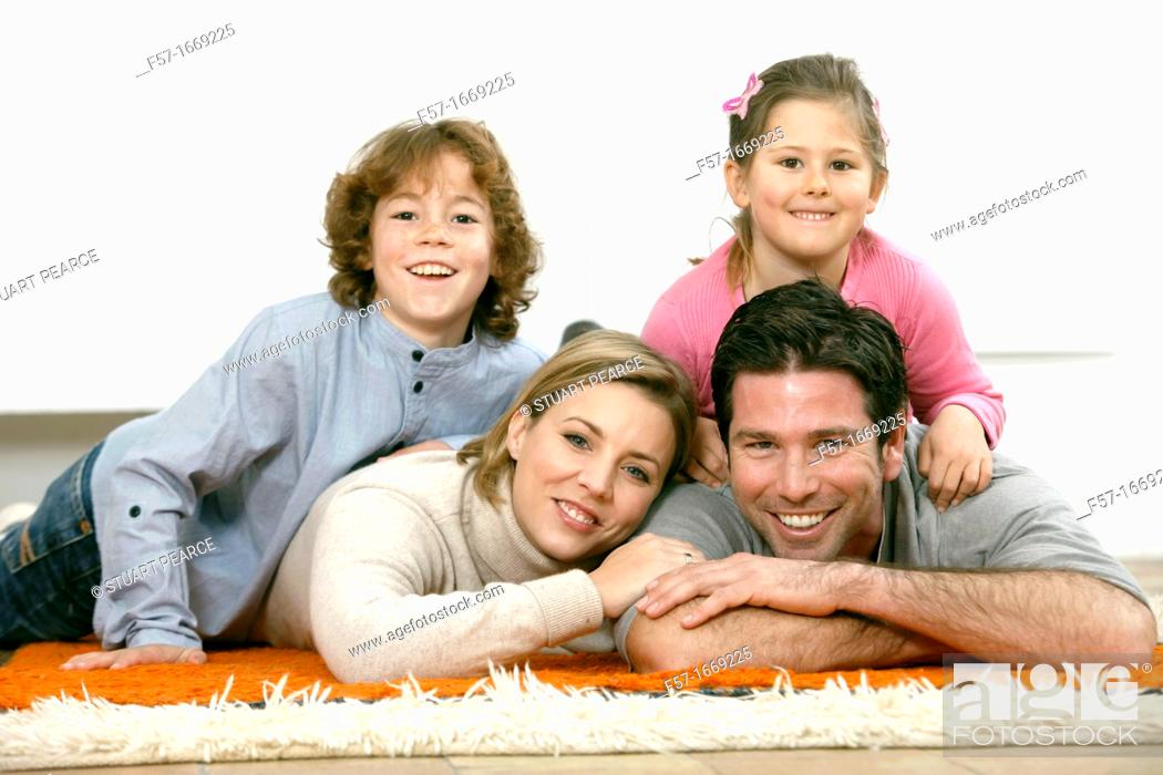 Stock Photo: Family.