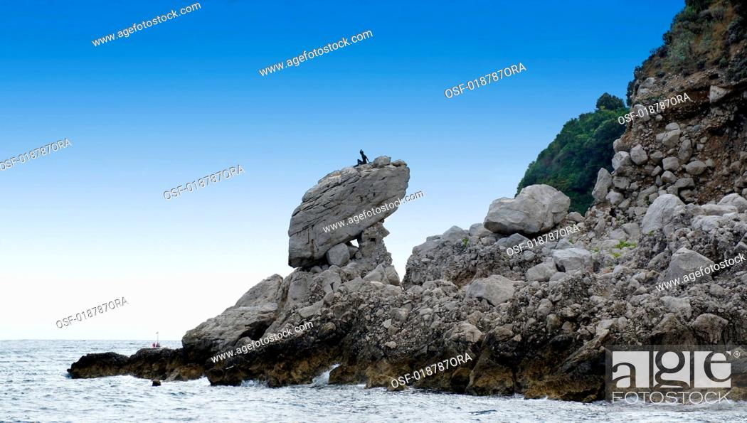Stock Photo: Italy, Capri.