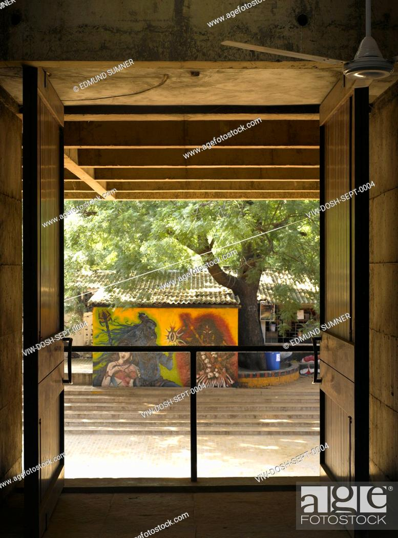 Cept University Architecture School View From Design Studio On 3rd