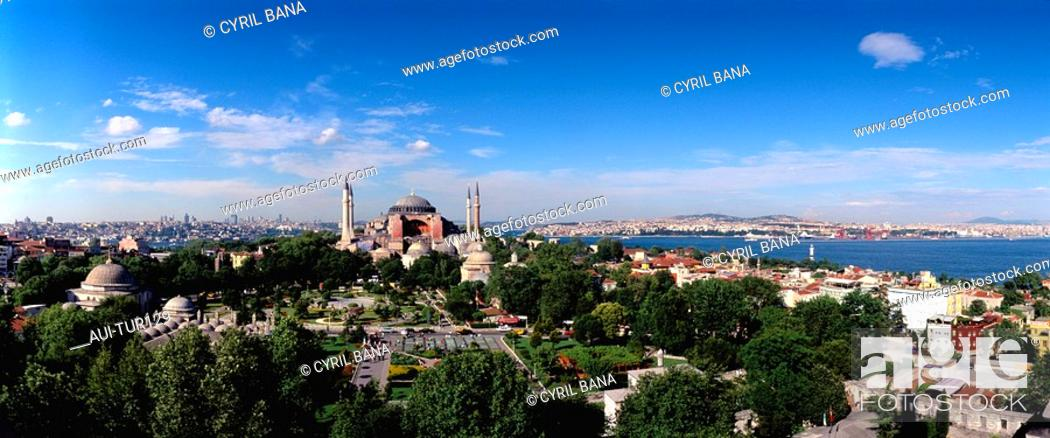 Stock Photo: Turkey - Istanbul - St Sophie - Overallview.