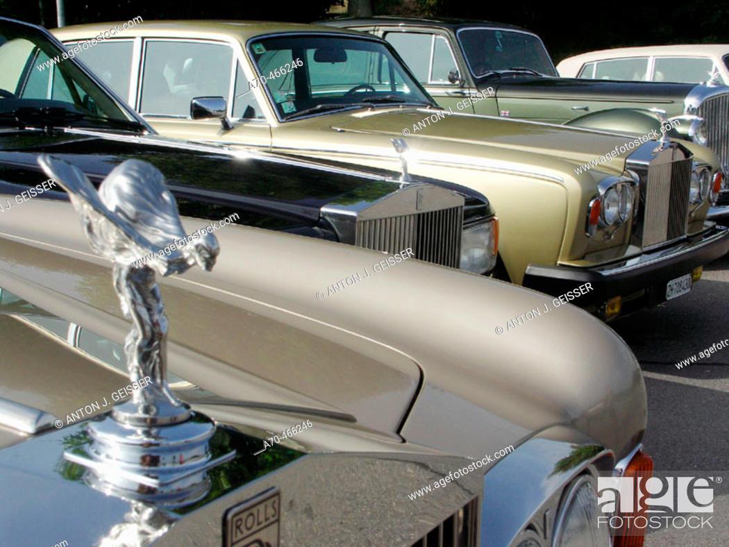 Stock Photo: Rolls Royces.