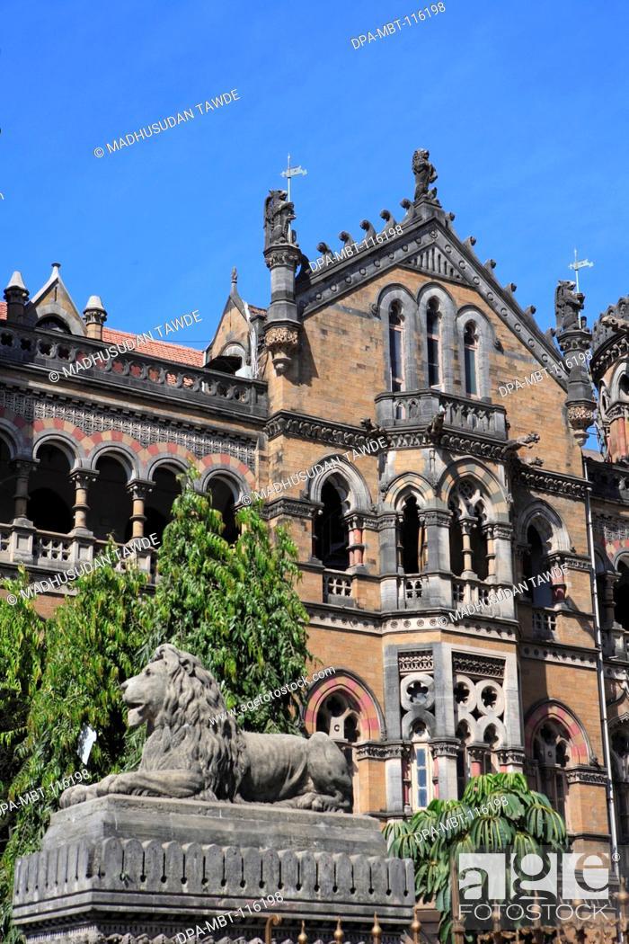 Chhatrapati Shivaji Terminus Formerly Victoria
