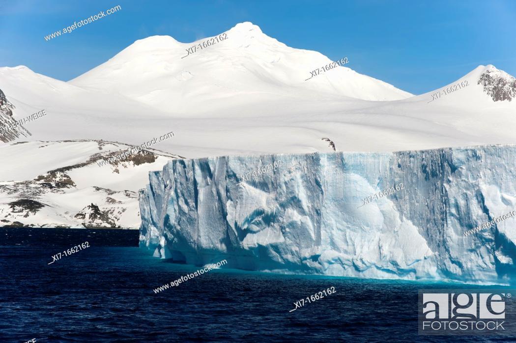 Stock Photo: Antarctic Sound, Antarctic Peninsula.