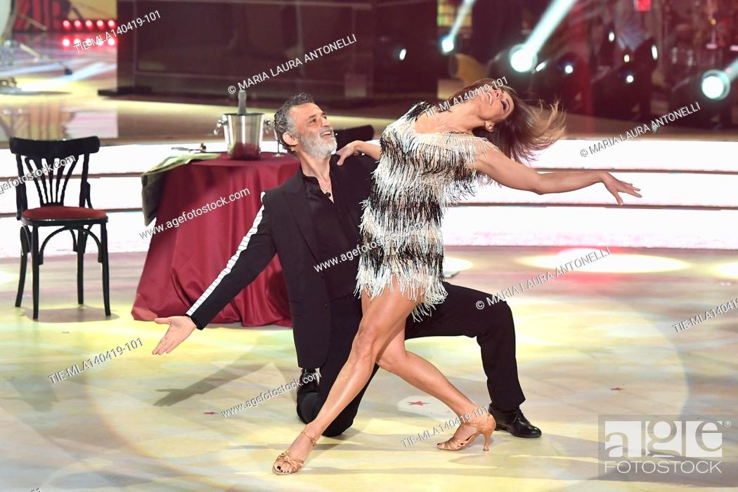 Imagen: Enrico Lo Verso during the performance at the talent show ' Ballando con le stelle ' (Dancing with the stars) Rome, ITALY-14-04-2019.
