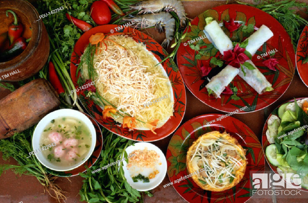 Stock Photo: Vietnamese Food.