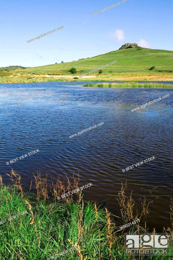 Imagen: Bashang grassland in Inner Mongolia.
