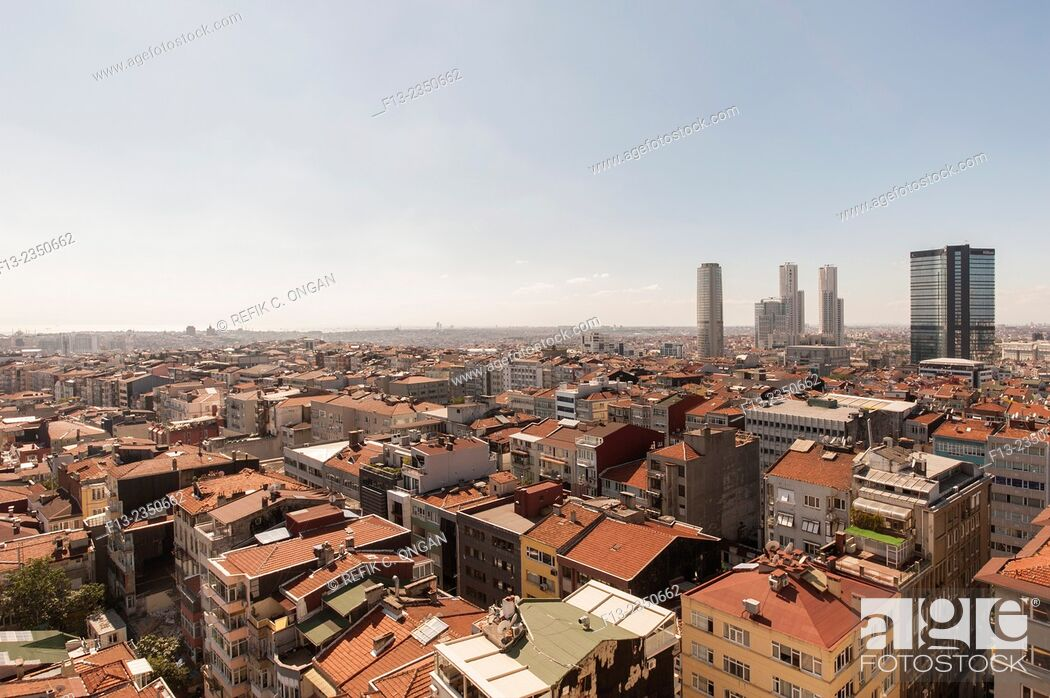 Stock Photo: Centre of the town through Historical area in Istanbul.