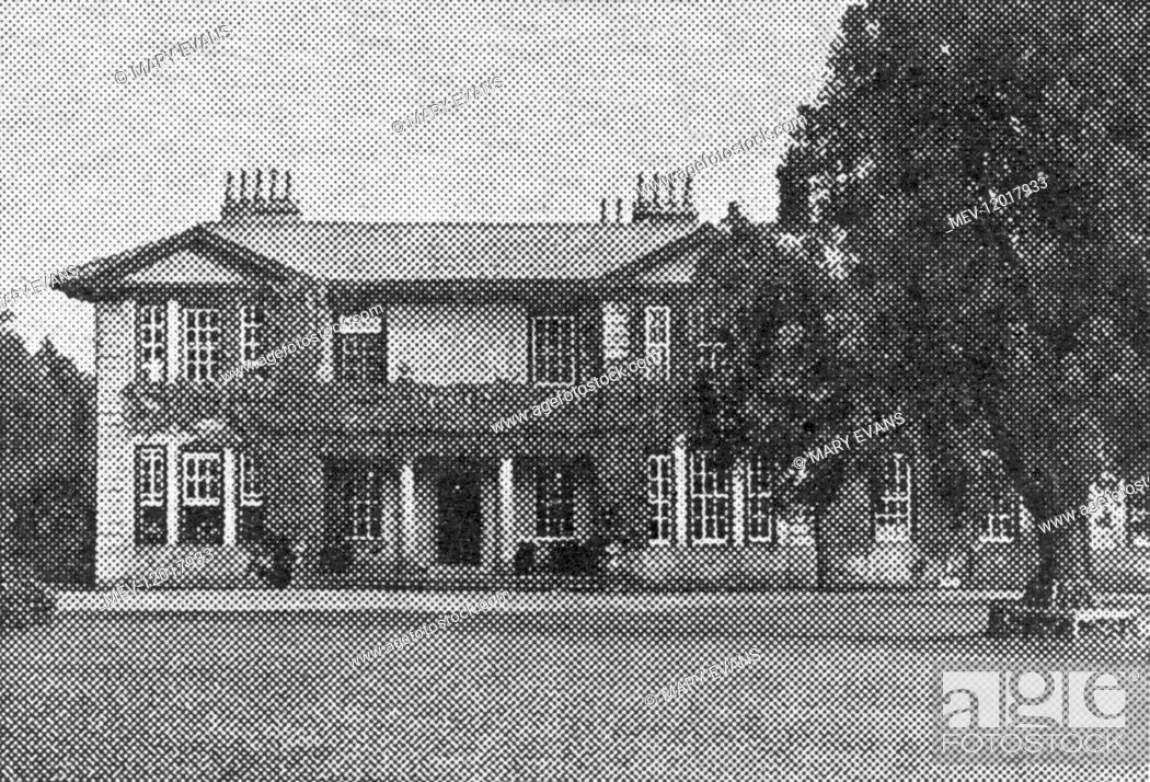 Imagen: Hollins Hall, Hampsthwaite, West Yorkshire, to where Barnardo's Bruce-Porter Hospital Home at Folkesto3e was evacuated in 1940.