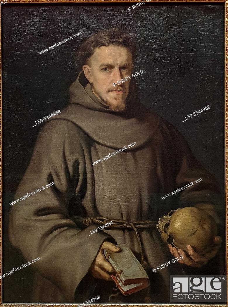 Imagen: 'Portrait of a Franciscan Friar', 1615/16, Peter Paul Rubens (1577-1640).