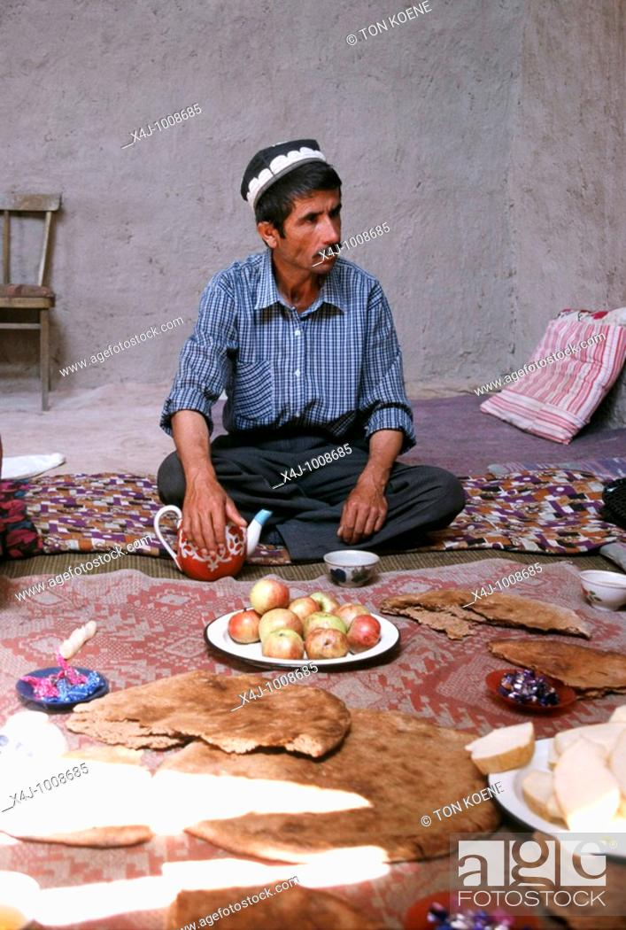 Stock Photo: Urban and rural images of Tajikistan, former Soviet Union.