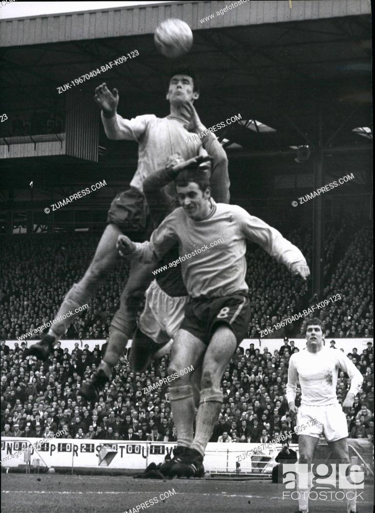 Apr. 04, 1967 - F. A. Cup Sixth Round Chelsea Versus Sheffield ...