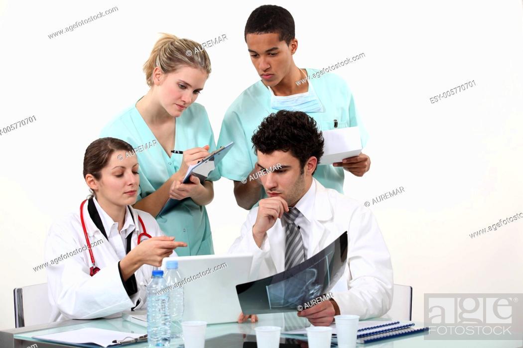 Stock Photo: Medical staff.