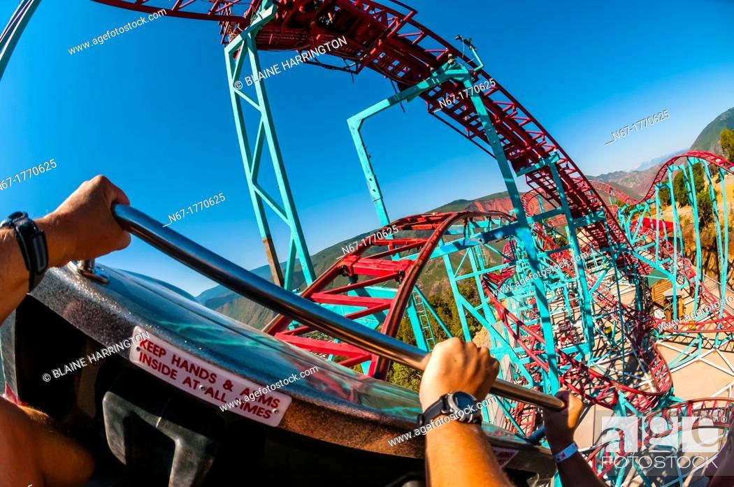 Cliffhanger Roller Coaster The Highest Elevation Roller Coaster In