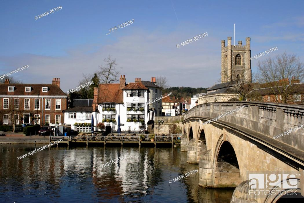 Stock Photo: Henley on Thames Oxfordshire.