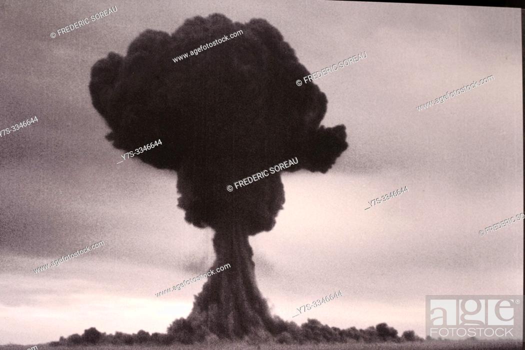 Stock Photo: Exhibits inside the Hiroshima Peace Memorial Museum, Hiroshima, Japan, Asia.