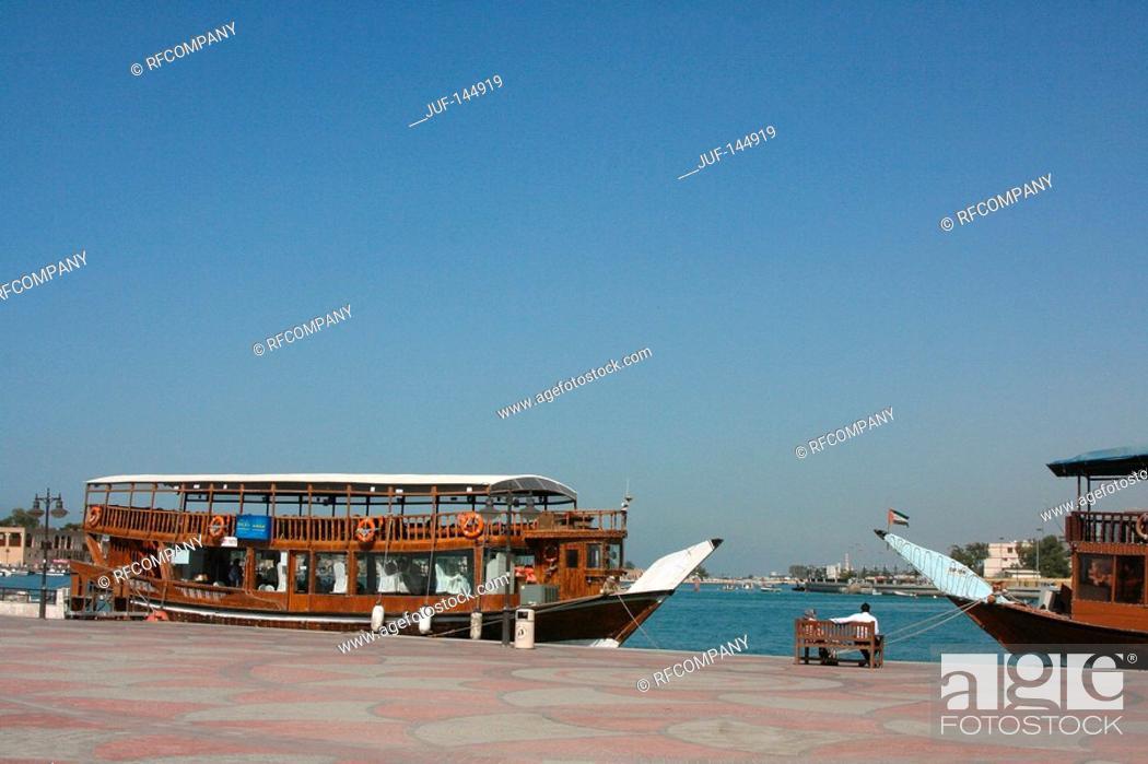 Stock Photo: Dubai - boats.