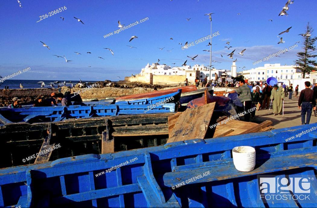 Imagen: Essaouira, Morocco, North Africa.