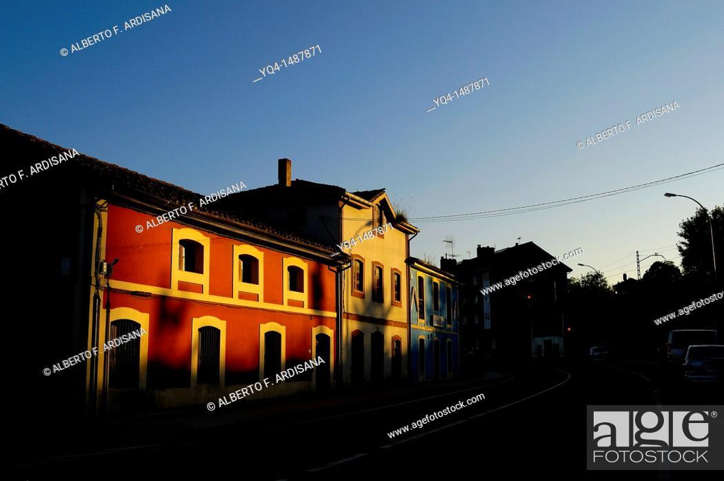 Stock Photo: Nava, Asturias, Spain.