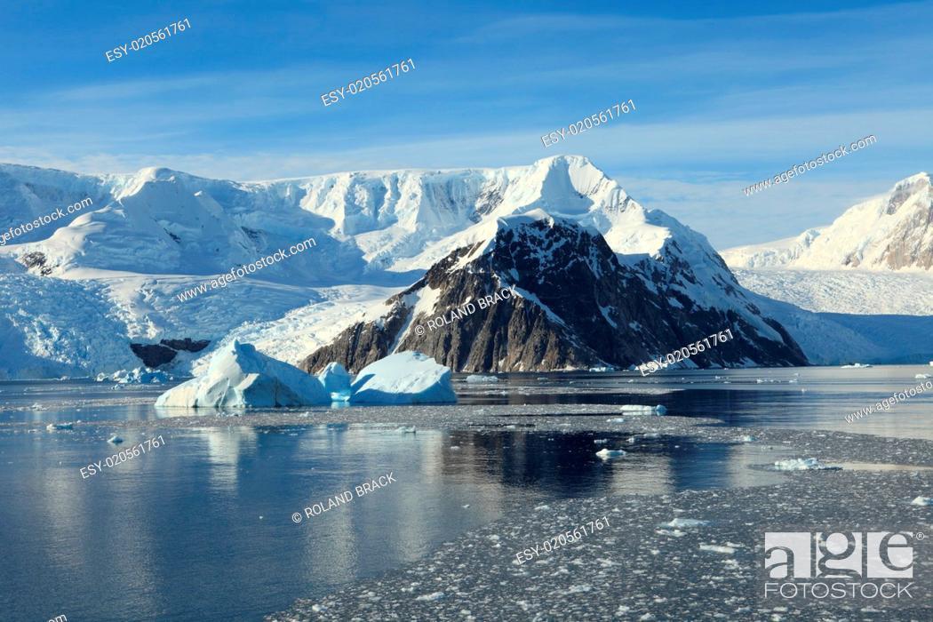Stock Photo: Die Antarktis.