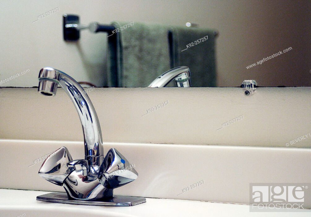 Stock Photo: Faucet.