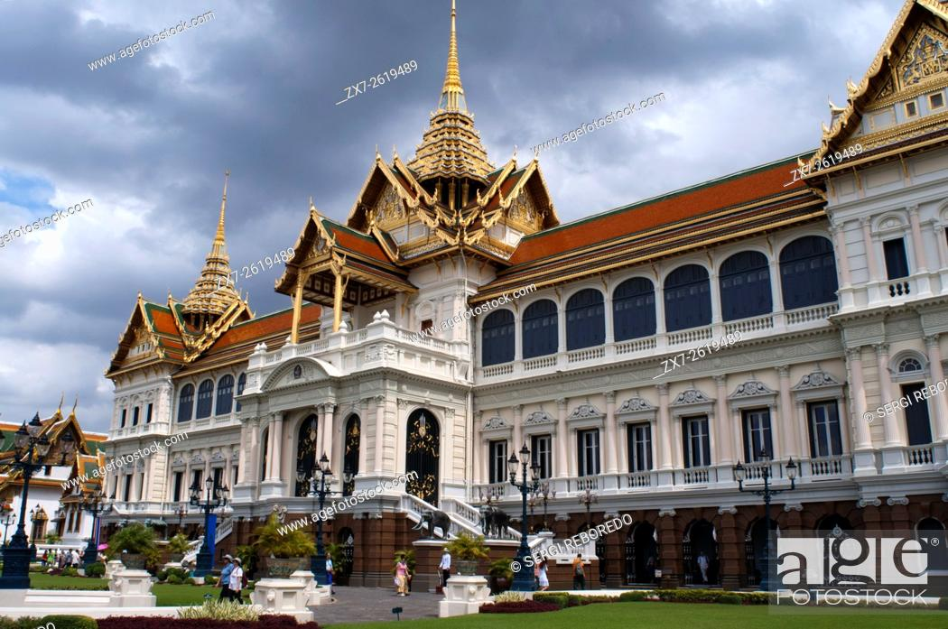 Imagen: Chakri Maha Prasat Hall, Grand Palace, Bangkok, Thailand, Southeast Asia, Asia.