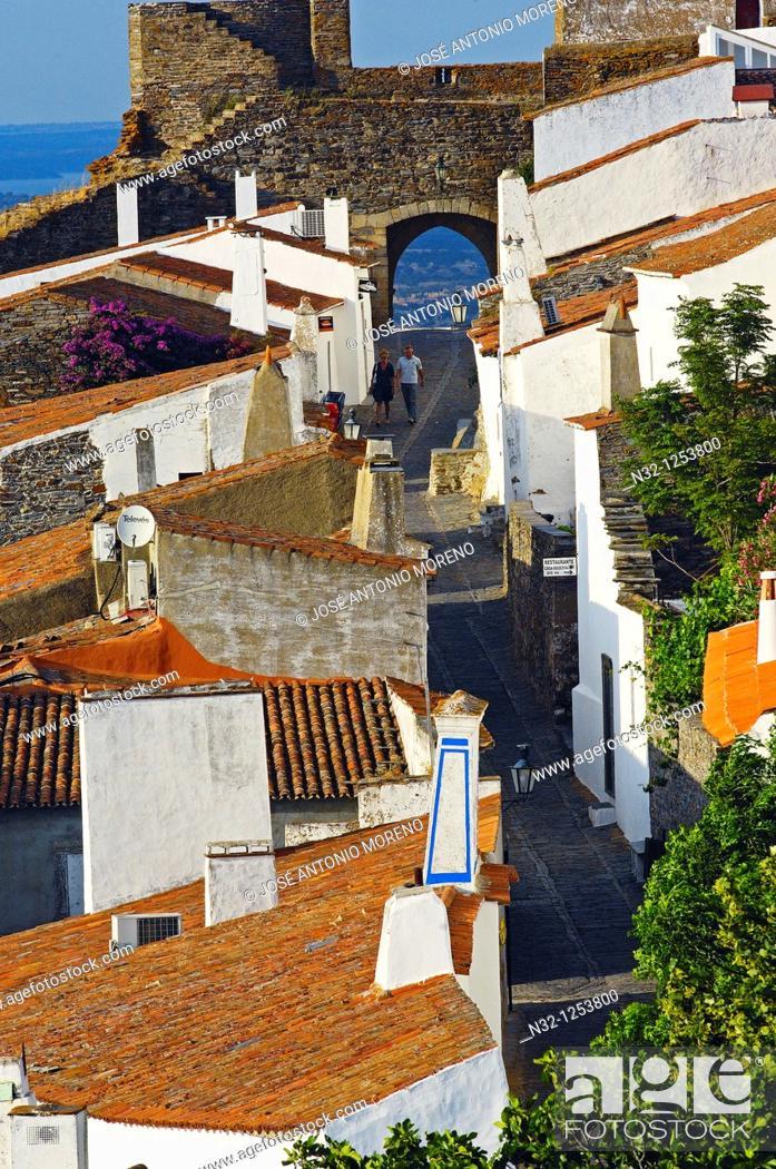Stock Photo: Monsaraz, Evora district, Alentejo, Portugal, Europe.