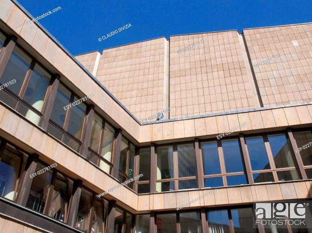 Stock Photo: Gewandhaus Leipzig.