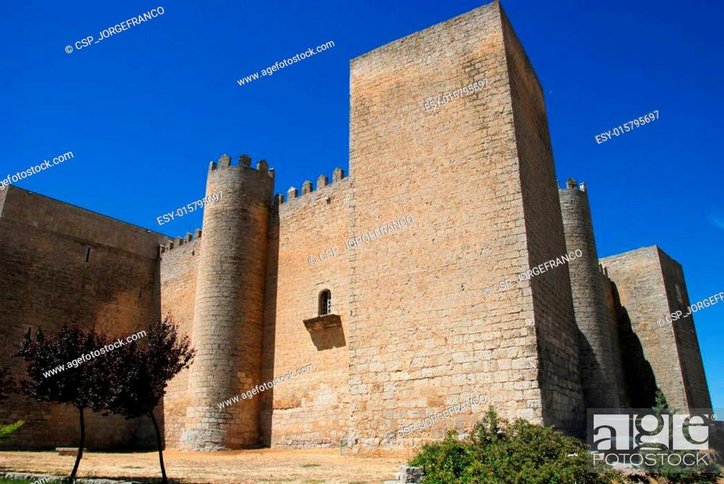 Stock Photo: Montealegre castle.