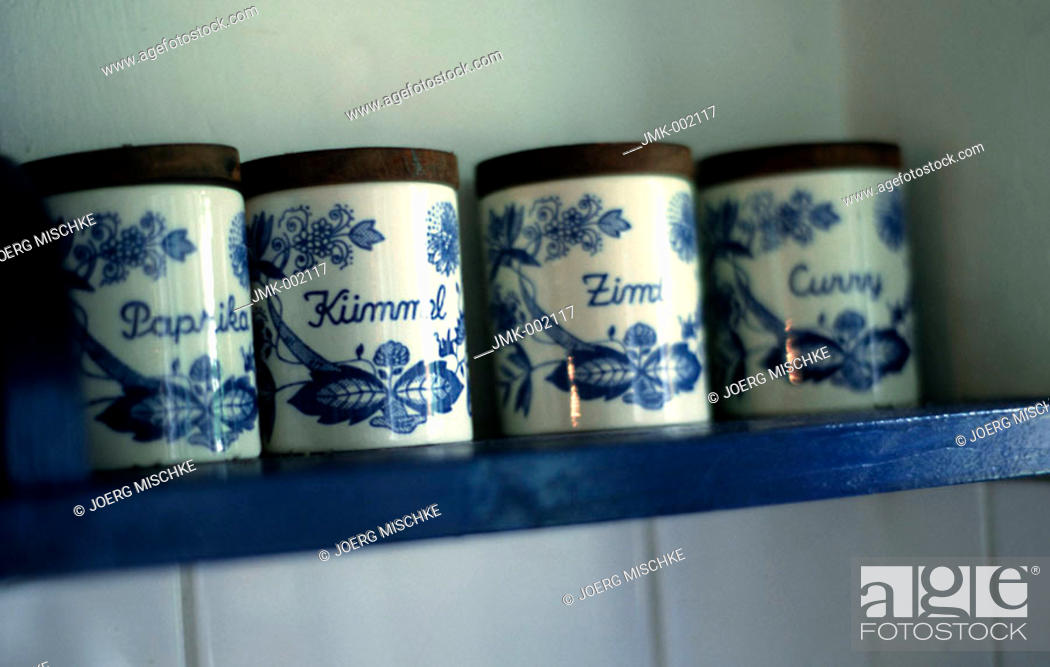 Stock Photo: A kitchen board with spices on it.