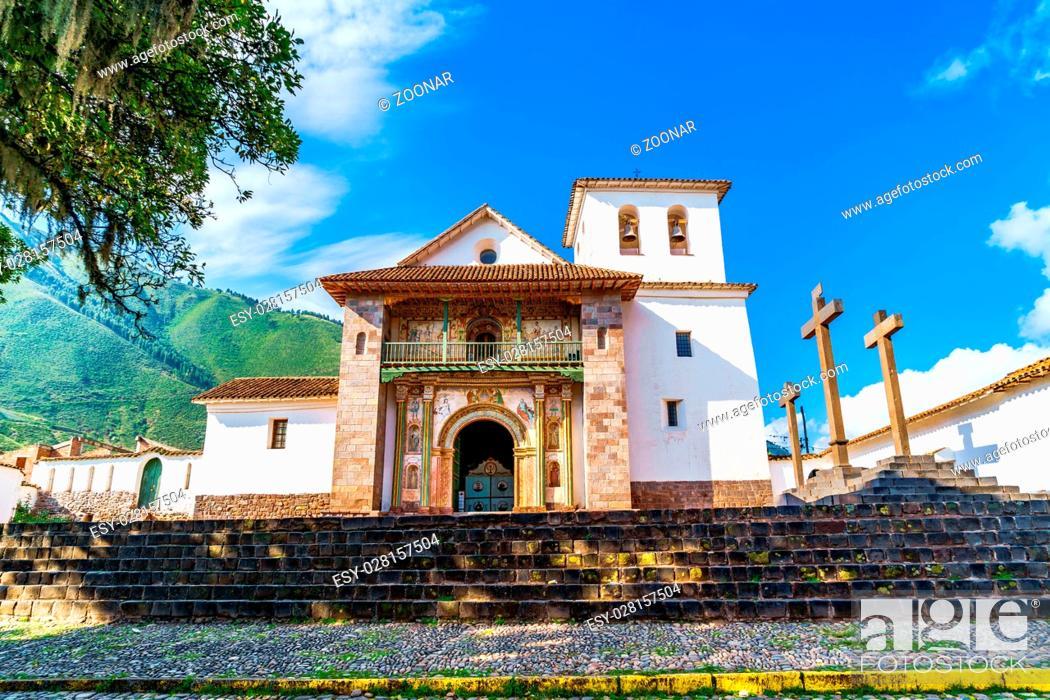 Stock Photo: Sistine Chapel of America at Andahuaylillas.