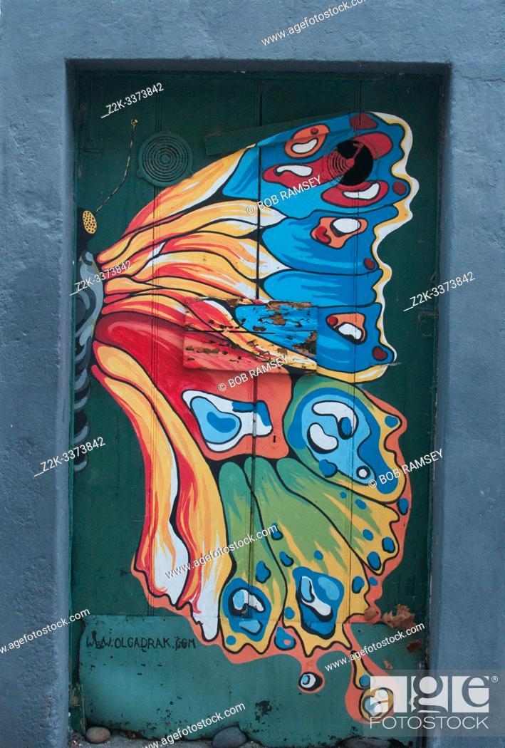 Stock Photo: Urban art in Machico.
