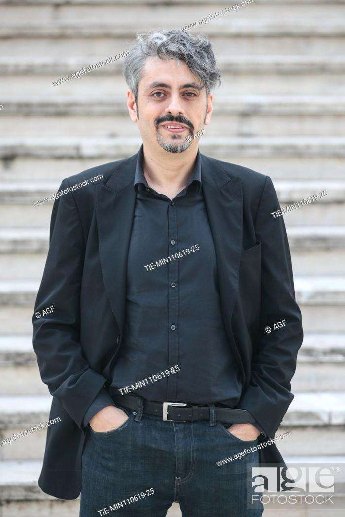 Stock Photo: Massimo Coglitore during 'The Elevator' film photocall, Rome 11/06/2019.