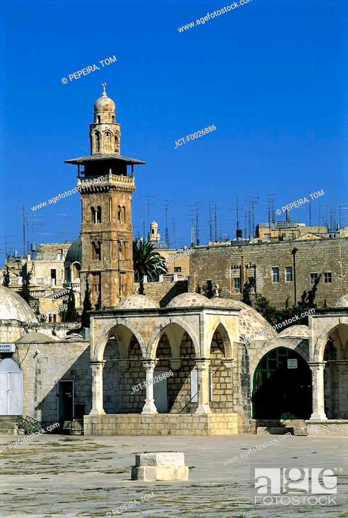 Stock Photo: Israel, Jerusalem, Temple Mount.