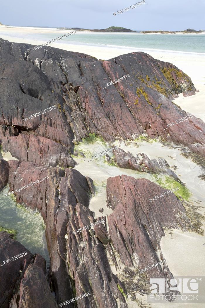 Stock Photo: Glassillaun Beach, Connemara; Galway; Ireland.