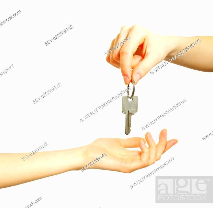 Photo de stock: key.