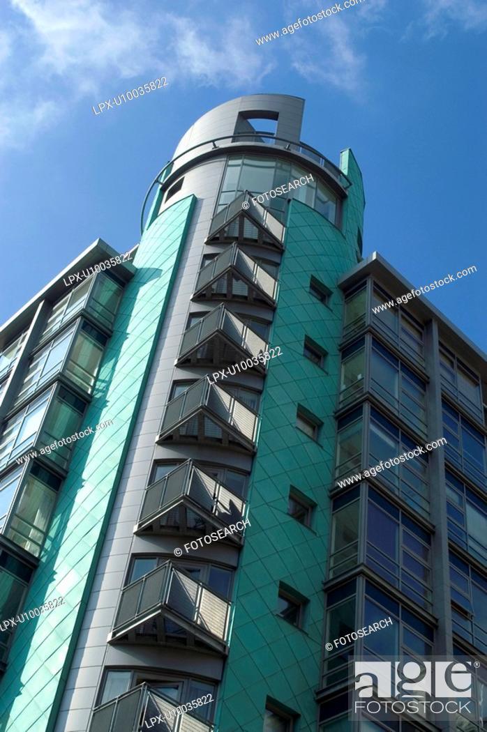 Stock Photo: Residential property development.