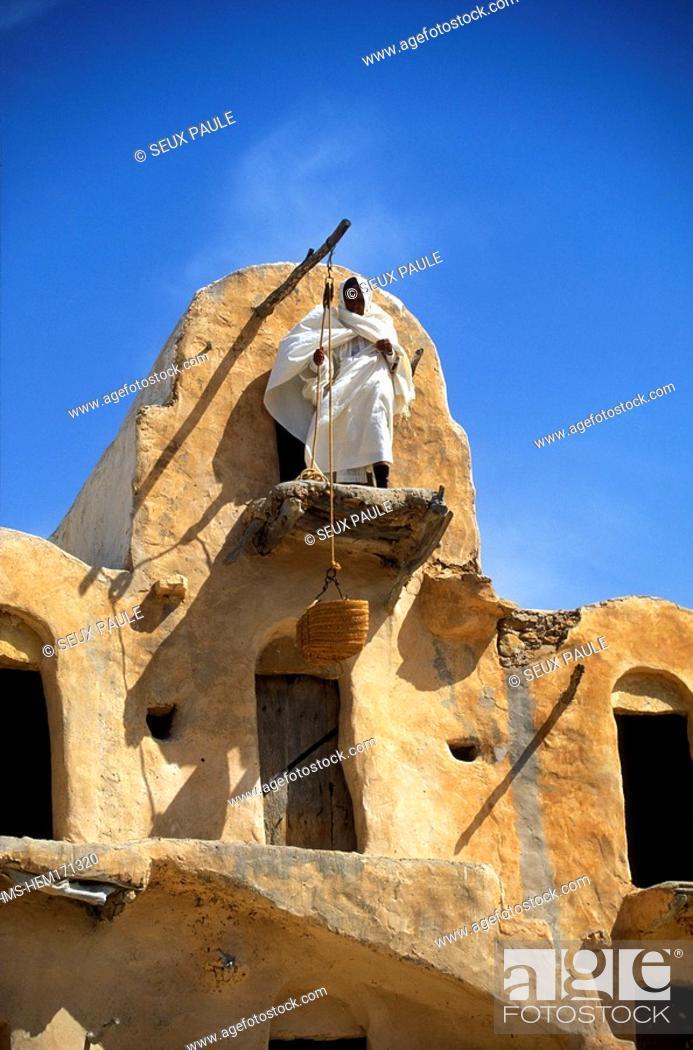 Stock Photo: Tunisia, Ksar Ouled Soltane.