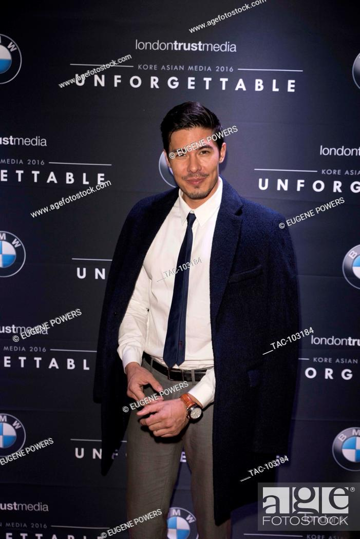 Stock Photo: Lewis Tan arrives at Unforgettable Gala December 10, 2016 in Beverly Hilton, Beverly Hills, California.